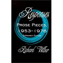 Responses: Prose Pieces, 1953-1976