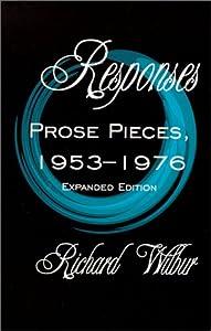 Responses: Prose Pieces, 1953-1976