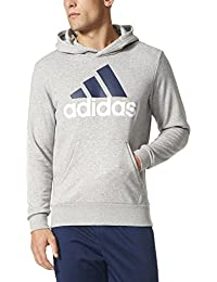 adidas Men's  Essential Linear Logo Pull Over Hoodie