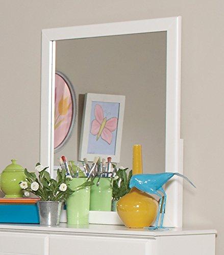 Coaster Home Furnishings Ashton Rectangular Mirror White