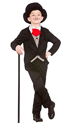 Gentleman Halloween Costumes (Boys Victorian Gentleman Fancy Dress Up Party Costume Halloween Child Outfit)