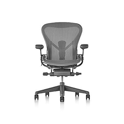 Herman Miller Aeron Chair, Size B, Carbon - 4046516 , B01N6PUXMS , 454_B01N6PUXMS , 1327 , Herman-Miller-Aeron-Chair-Size-B-Carbon-454_B01N6PUXMS , usexpress.vn , Herman Miller Aeron Chair, Size B, Carbon