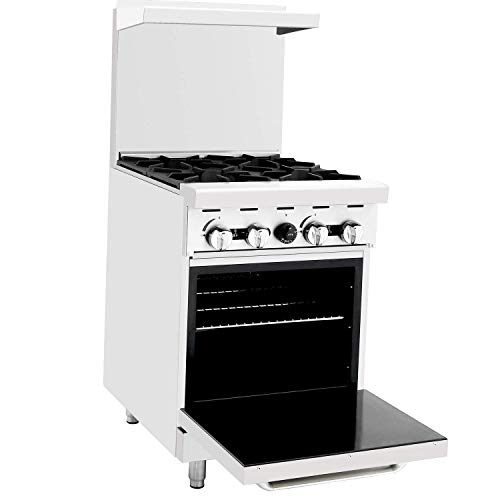 CookRite ATO-4B Commercial Natural Gas Range 24