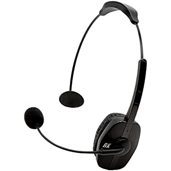 4550eed8376 RoadKing RKING920 Noise-Canceling Bluetooth Headset with Mic for Hands-Free