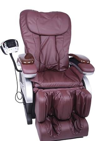 Electric Full Body Shiatsu Burgundy Massage Chair Recliner Stretched Foot Rest 06C  sc 1 st  Amazon.com & Amazon.com: Electric Full Body Shiatsu Burgundy Massage Chair ... islam-shia.org