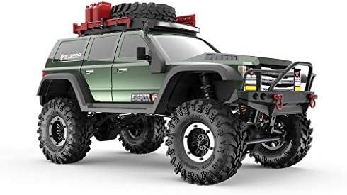 Redcat Gen7 Pro Gen 7 Pro 1: 10 Modelo eléctrico de Auto RC Crawler Green Edition Allrad RTR, Verde