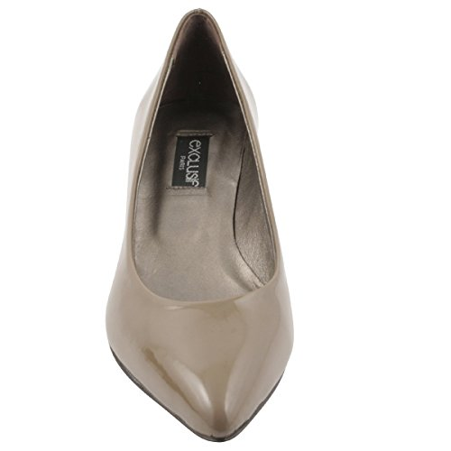 Lolita à Exclusif Paris Taupe Talons Chaussures q8EIHrwEx