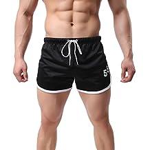 Men's Casual Dry Fit Shorts Sports Trunks Beach Short Pants