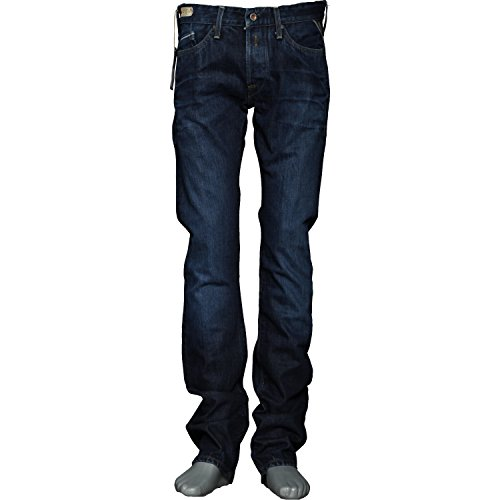 Replay Herren Jeans WAITOM Regular M 93 F542110007 Blue