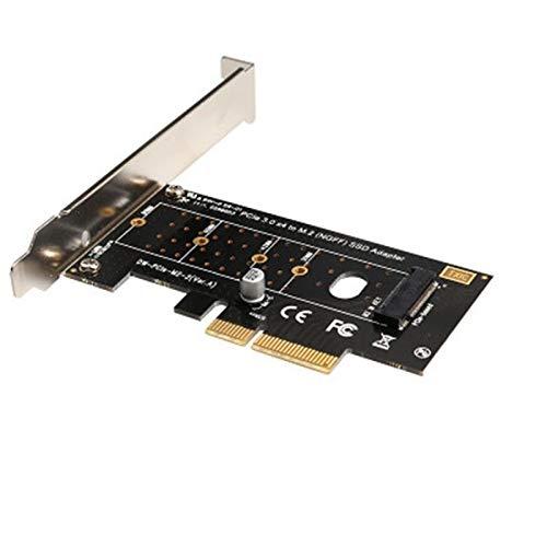 Semoic Pci-E Pci Express 3.0 X4 to Nvme M.2 M Key Ngff Ssd Pcie M2 Riser Card Adapter