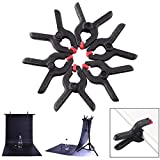 Clamps for Backdrop Stand, 6Pcs Professional Photo Studio Clips Nylon Spring Clamps for Photograph Background Stand