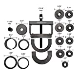 OEMTOOLS 27213 Master Wheel Hub & Bearing Remover & Installer Kit | Fits Most Makes and Models – Front, Rear, & All-Wheel Drive | Easy-to-Use Self-Centering Design | Carrying Case Included
