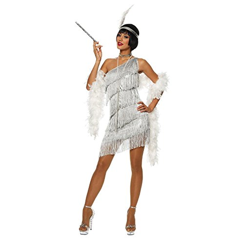 Adult Dazzling Flapper Costume - Medium