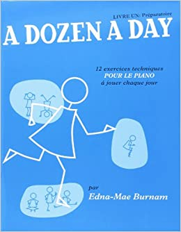 Résultats de recherche d'images pour «a dozen a day piano francais»
