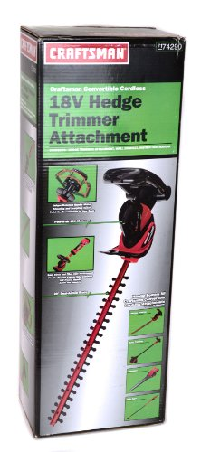 Craftsman #74290 18v Hedge Trimmer Attachment by HUSQVARNA