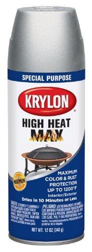 Krylon High Heat Max Special Purpose Aerosol 12 oz. Aluminum by Krylon