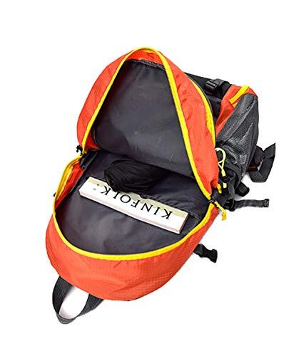 Alpinismo Zaino Scuola Capacità Zainetto All'usura Impermeabile Borsa Resistente Nylon Zaini Fashion Da Saino Grande Viaggio Casual Uomo d6Rdxv