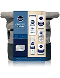 Dapper Duffel Gift Set - 5 Piece Collection Of On-The-Go Grooming Needs with Travel Bag Included
