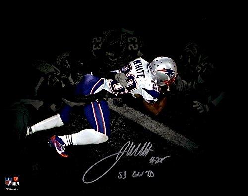 James White New England Patriots Autographed 11