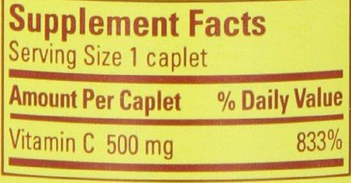 031604014858 - Nature Made Vitamin C 500 mg Synthetic, 100 ct carousel main 1