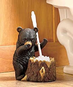 Bear Shaped Toilet Brush Holder