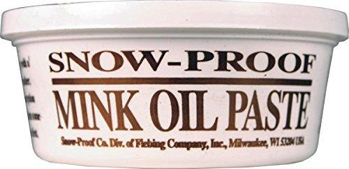 (Fiebing's Company 088-40038 699740 Snow Proof Mink Oil Paste, 8 oz)