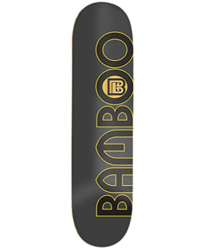 Bamboo Skateboards Natural Bamboo Circle Graphic 8.25