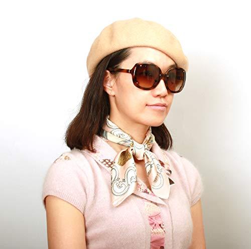 - Women's Belle French Beret Hat Soft Wool Medium (Light Beige)