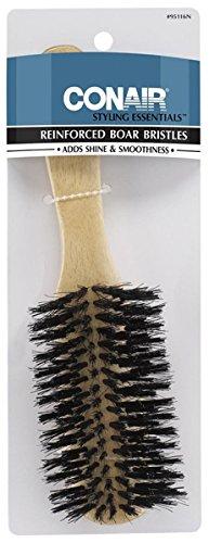 Conair Styling Essentials Hair Brush, Reinforced Boar