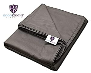 Premium Weighted Blanket 60x80 inch Blanket by Good Knight Blankets