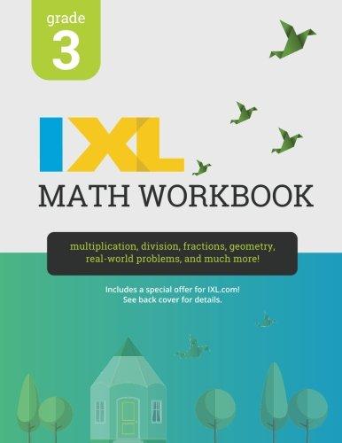 Ixl Math Workbook  Grade 3