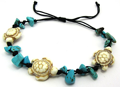 Turtle-Hemp-Bracelet-Black-Bracelet-with-Turtle-in-Turquoise-Color-Hawaiian-Sea-Turtle-Bracelet-Hemp-Bracelet