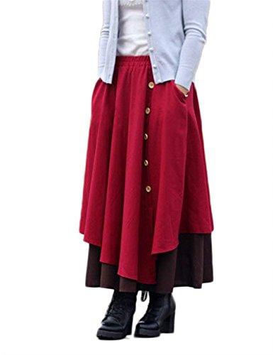Waist Harem Casual Monocromo Autunno Pantaloni Eleganti Ragazze High Festa Libero Pantalone Donna Larghi Primaverile Rot Style Tempo Pantaloni Moda Pantaloni OYdw1q4O