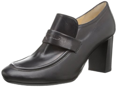 Amalfi By Rangoni Women Keira Loafer Black Calf