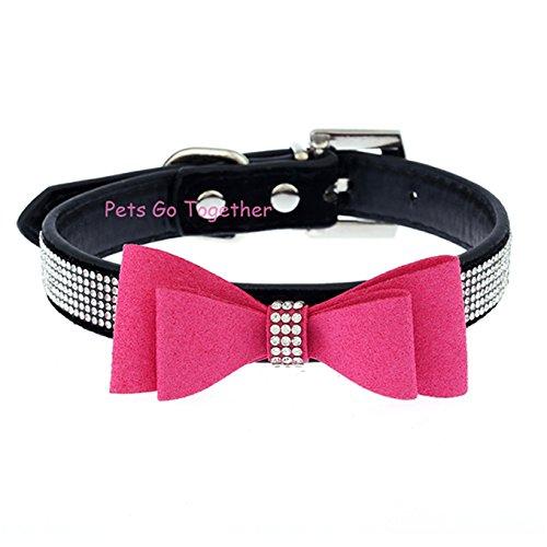 HubryTM Cute Bow Dog Collar...