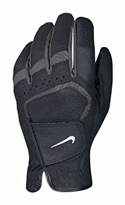 Nike Men's Dura Feel VII Regular Black Golf Glove, Left Hand, X-Large