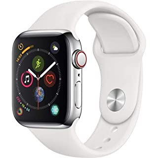 AppleWatch Series4 (GPS+Cellular, 40mm) - Stainless Steel Case with White Sport Band (B07JBN9WSG)   Amazon price tracker / tracking, Amazon price history charts, Amazon price watches, Amazon price drop alerts