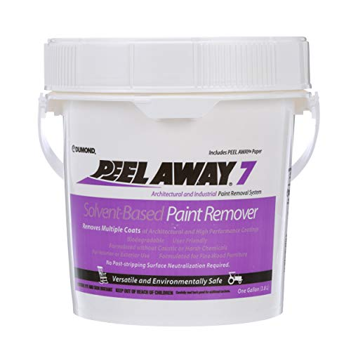 Dumond Chemicals, Inc. 7001 Peel Away 7 Solvent-Based Paint Remover, 1 Gallon