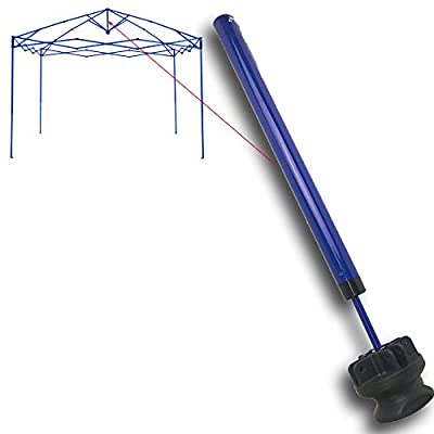 Quik Shade Expedition One Push 10' X 10 Canopy Gazebo One Push Mechanism Replacement Parts (Blue) : Garden & Outdoor