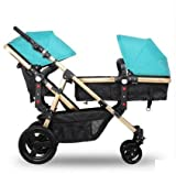 twin baby stroller,double stroller ,landscape baby stroller 3 in 1,strollers for twins,travel system,baby bassinet,twins prams