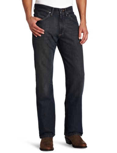 Wrangler Men's 33 Extreme 20X Collection Relaxed Fit Staright Leg Jean Night Sky, 32x36