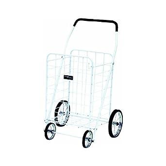 Jumbo White Shopping Cart Narita Trading