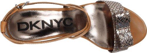 DKNY - Sandalias de vestir para mujer Silver/Pale