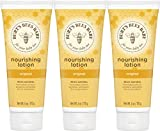 Burt's Bees Baby Nourishing Lotion, Original Scent Baby Lotion - 6 Ounce Tube - Pack of 3