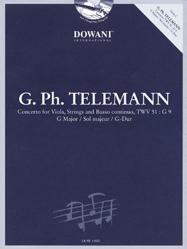 Telemann: Concerto for Viola, Strings and Basso Continuo TWV 51:G9 in G Major