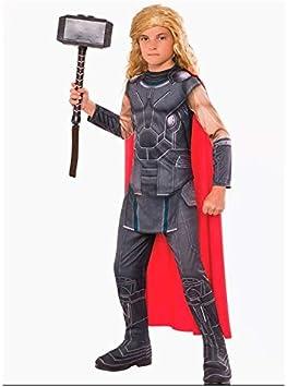 DISBACANAL Disfraz Thor Vengadores para niño - -, 8-10 años ...