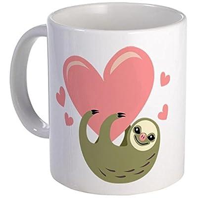 11 Ounce Mug - Sloth Mug - S White &Quot; - 400, Hundredths-Inches, 400, Hundredths-Inches, 75, Hundredths-Pounds, 300, Hundredths-Inches