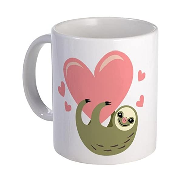 11 Ounce Mug - Sloth Mug - S White &Quot; -