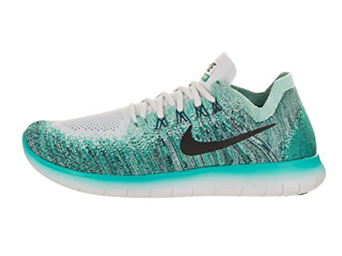 Nike Free Rn Flyknit 2017 Size 10 Mens Running Pure Platinum/Black-Turbo Green Shoes real free shipping pre order cheap very cheap Vcq19HH
