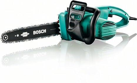 Bosch 910030973 Motosierra eléctrica AKE 35-19 S 1900 W, velocidad de la cadena de 12 m/s